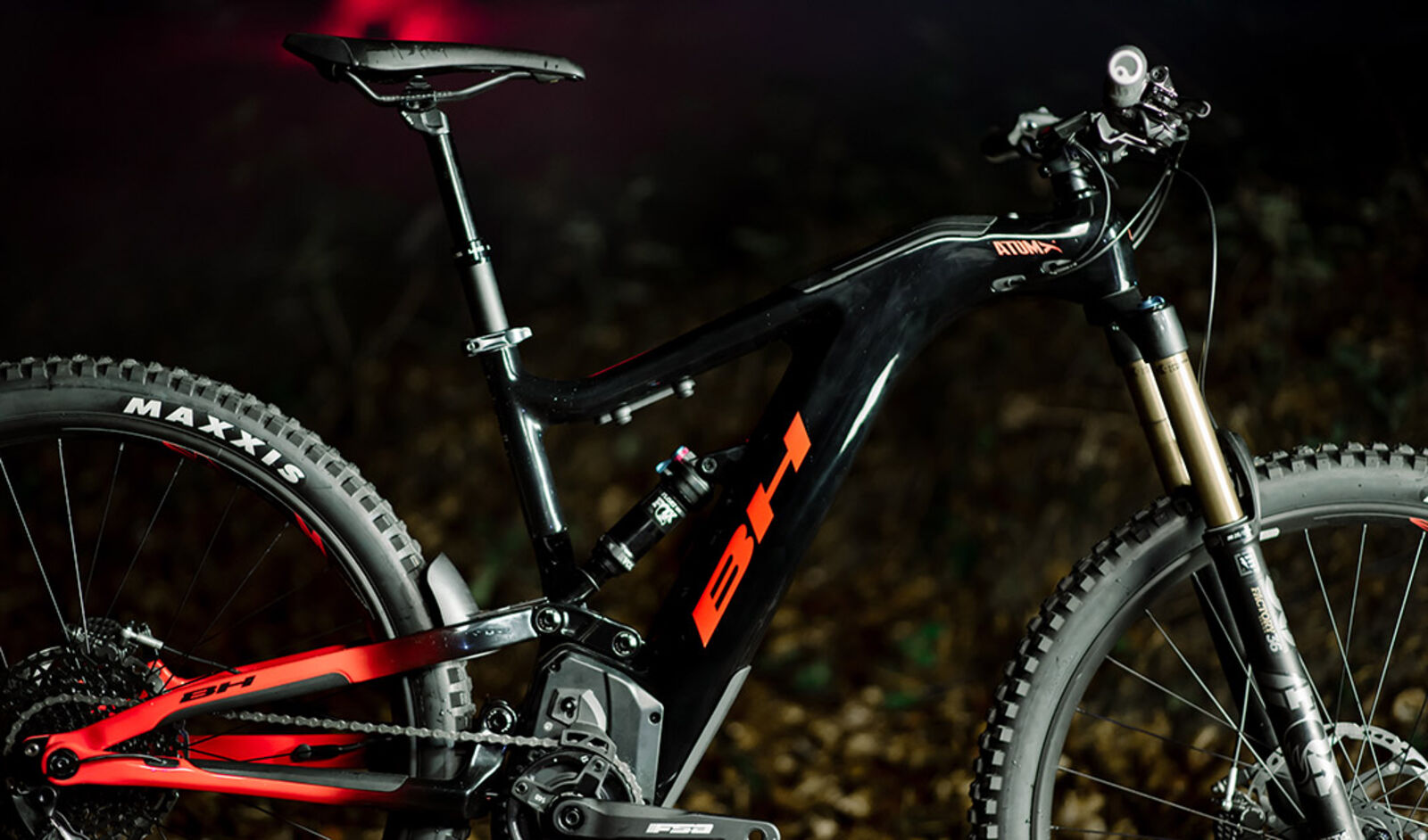 Rower elektryczny górski bh bikes er971